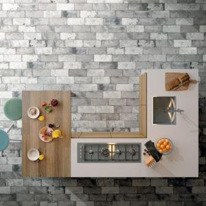 Colectia Pave Brick bucatarie