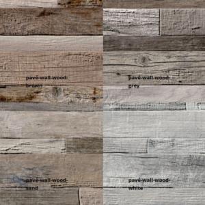 Pave wall wood culori